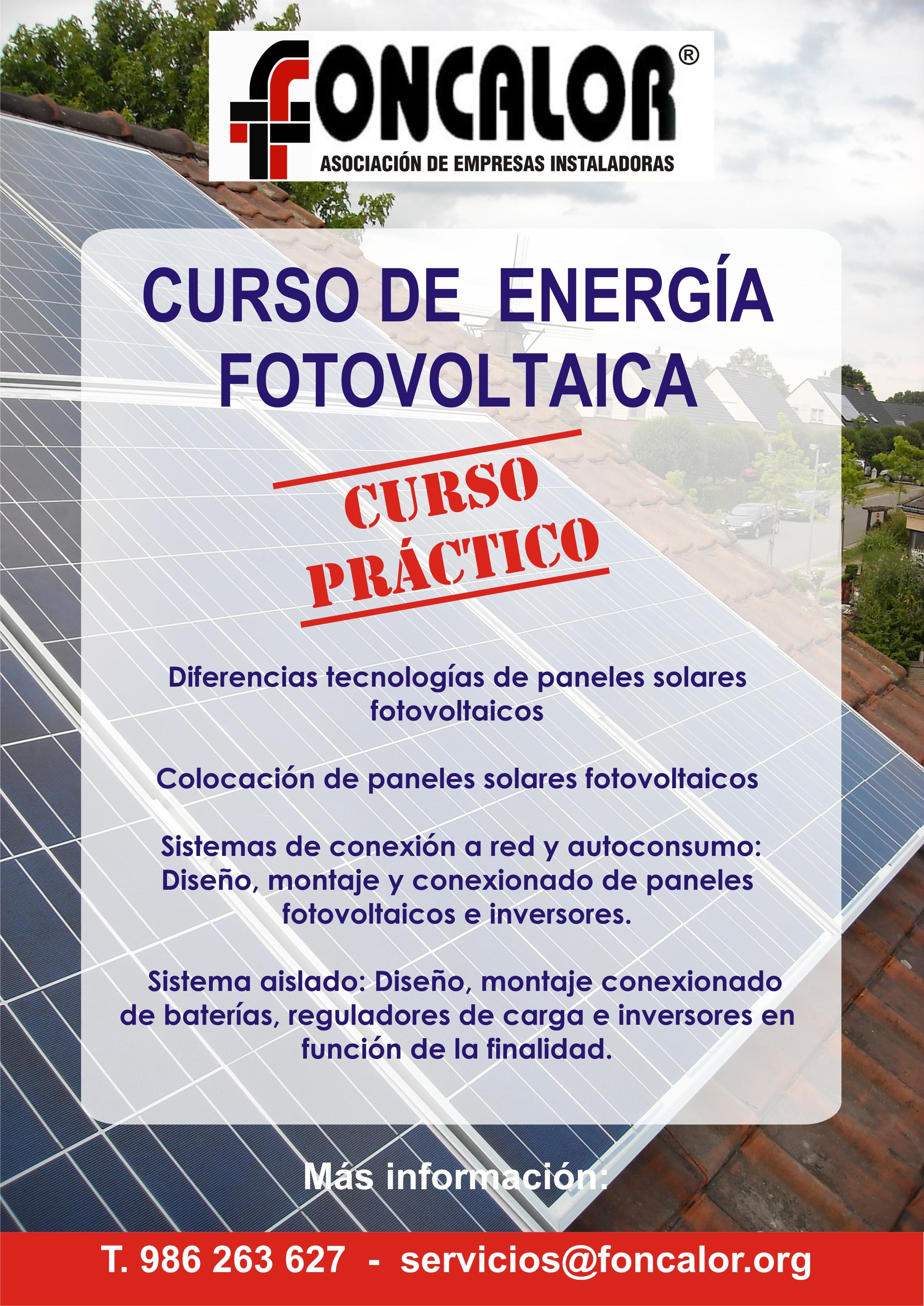 Curso Fotovoltaica