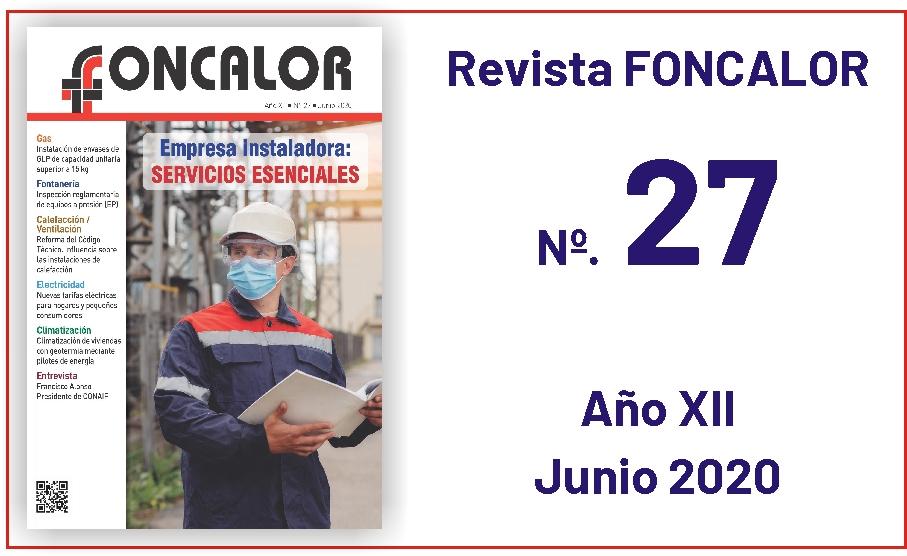 Revista Foncalor nº 27