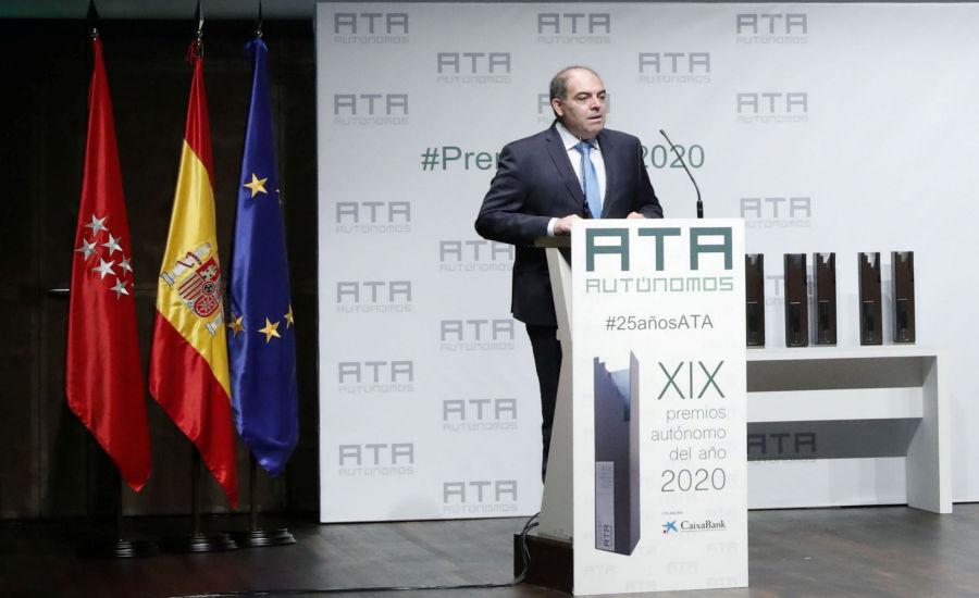 Lorenzo Amor, Presidente ATA y Vicepresidente CEOE